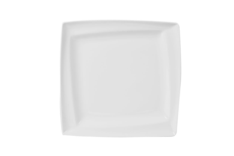 Asymmetric Square Plates