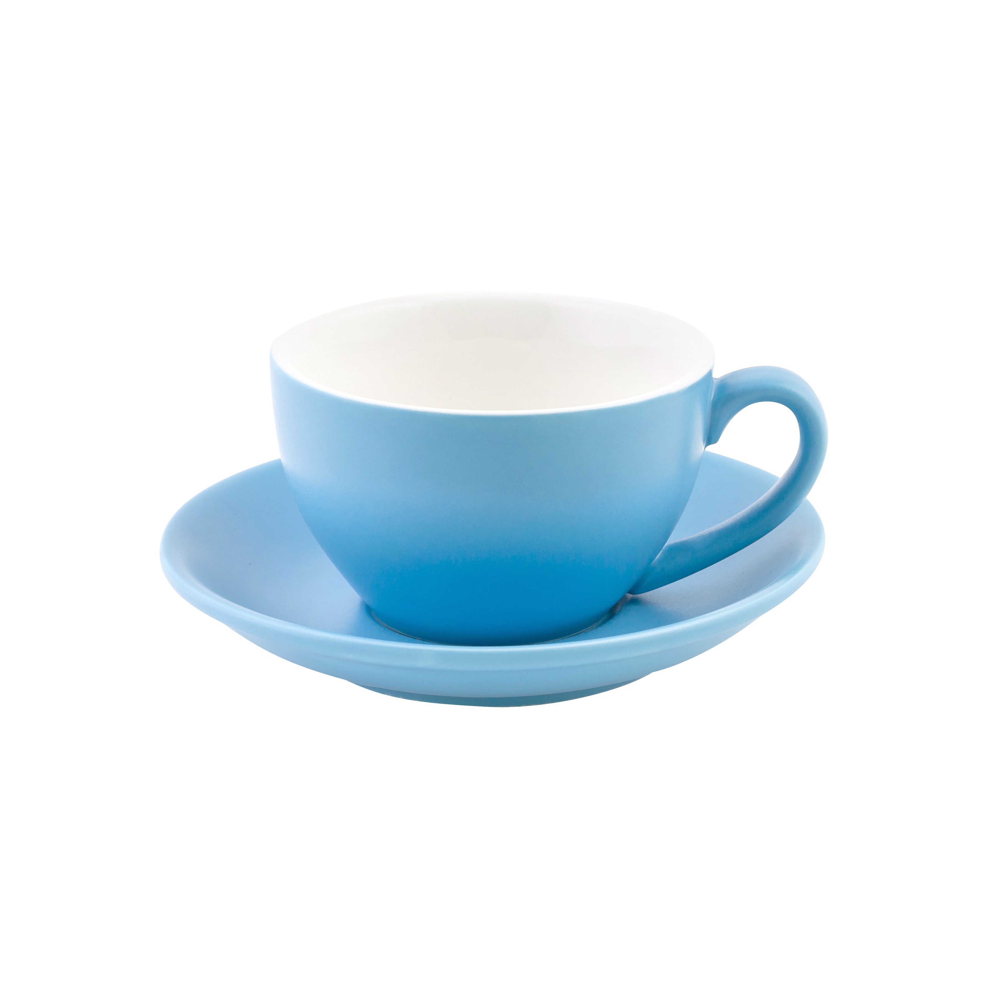 Intorno Large Cappuccino Cup & Saucer