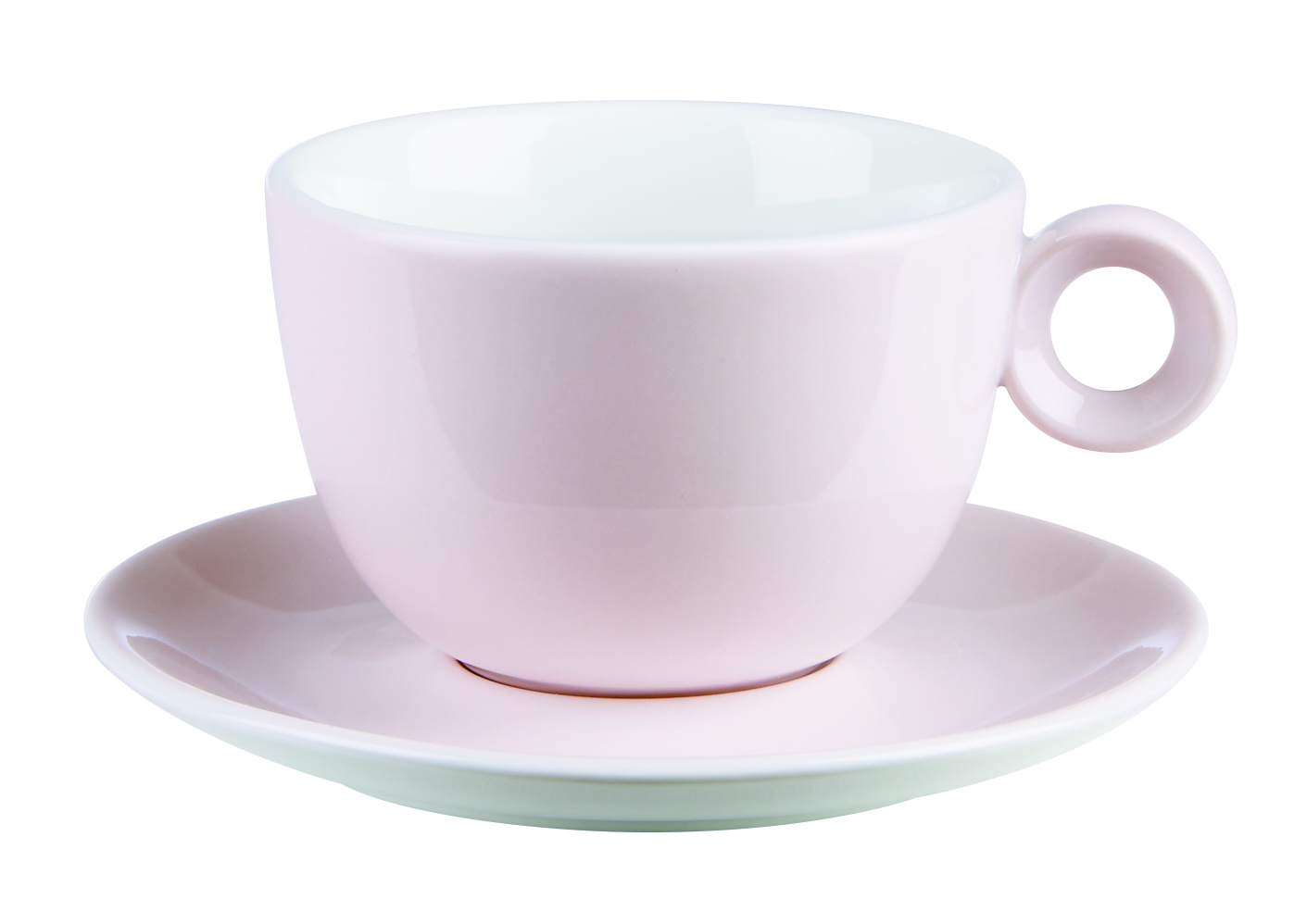Bowl Shaped Cups & Saucers