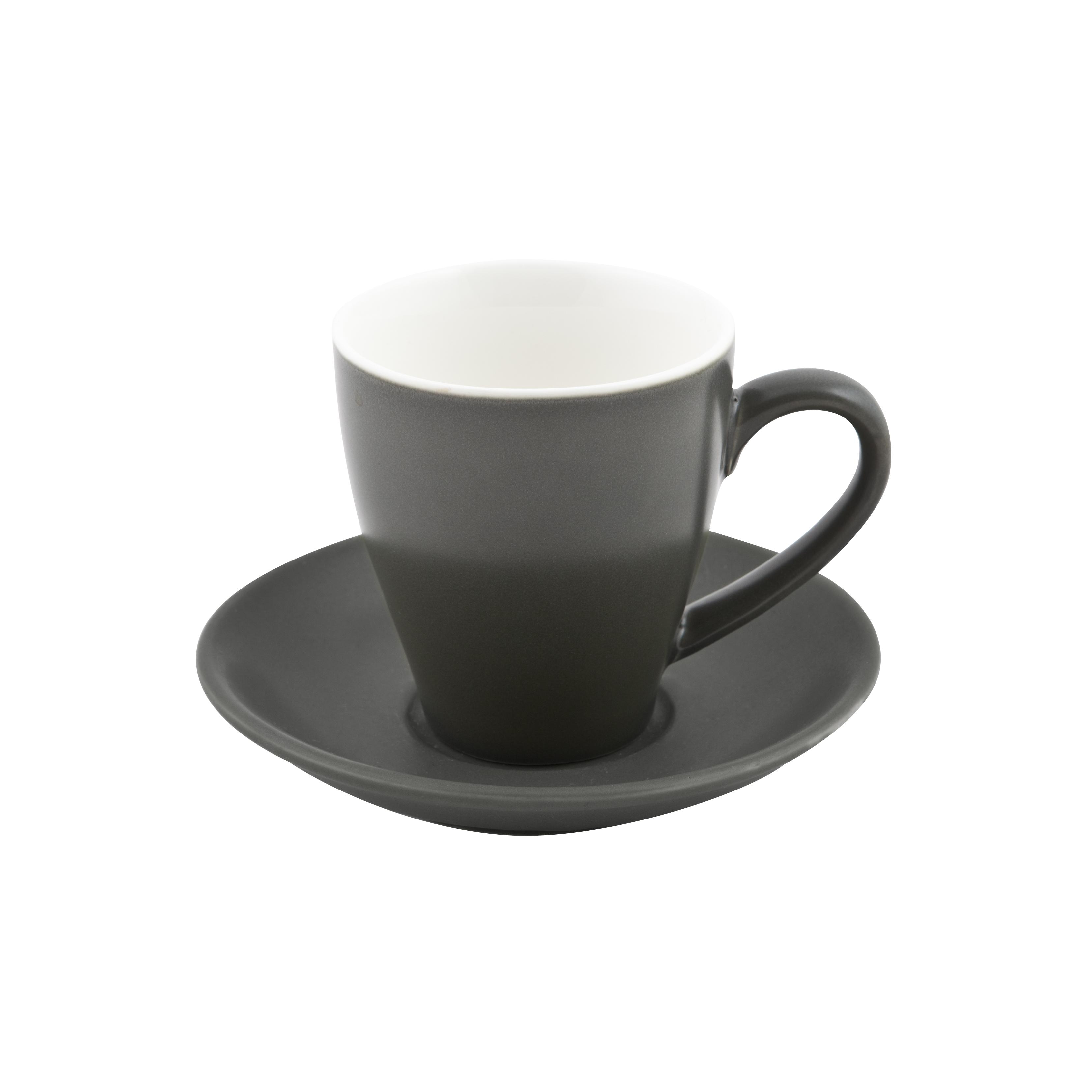 Cono Cappuccino Cup & Saucer