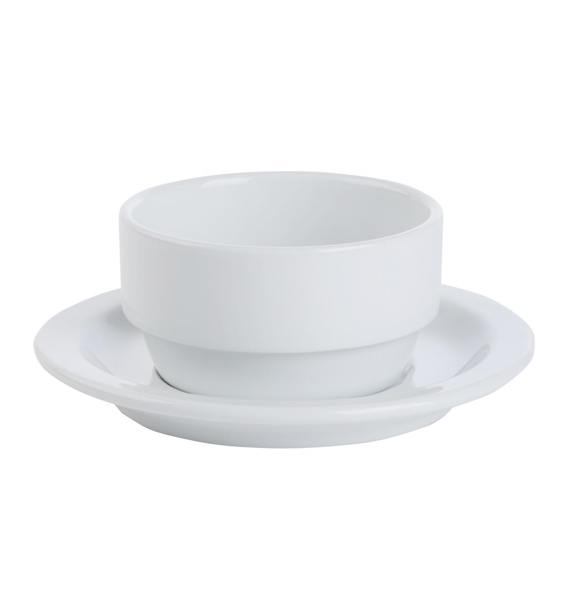 Bowl & Soup Stand/Saucer