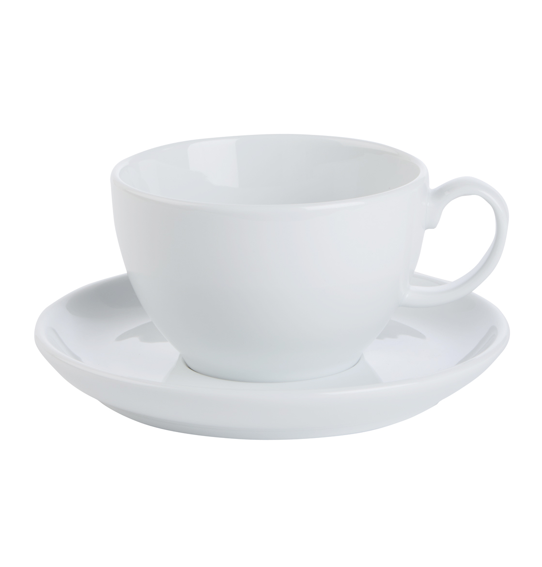 Bowl Shaped Cups & Saucer