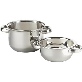 Stainless Steel Mussel Pots