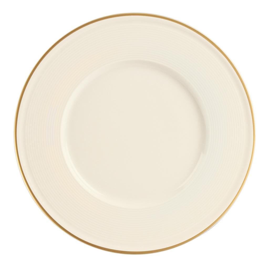 Academy Line Gold Colour Band Plates