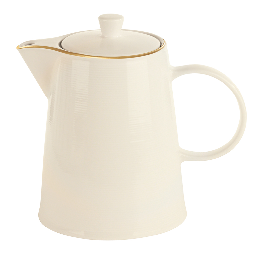 Academy Line Gold Colour Band Coffee Pots